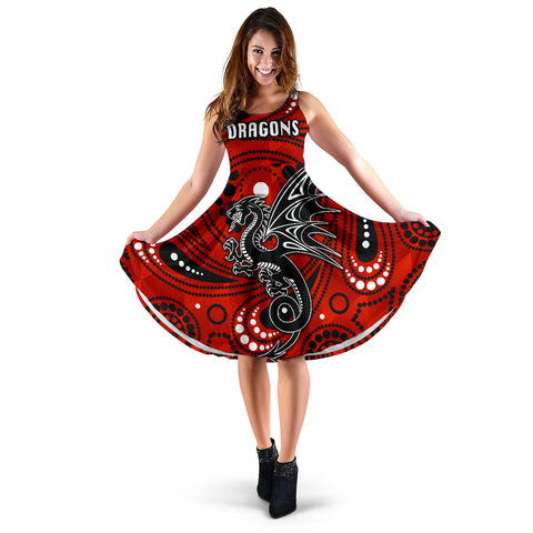 St. George Dragons Women's Dress Simple Indigenous