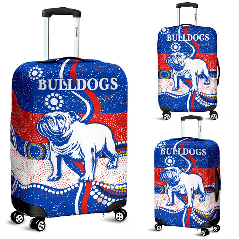 Image of Western Luggage Covers Bulldogs Unique Indigenous