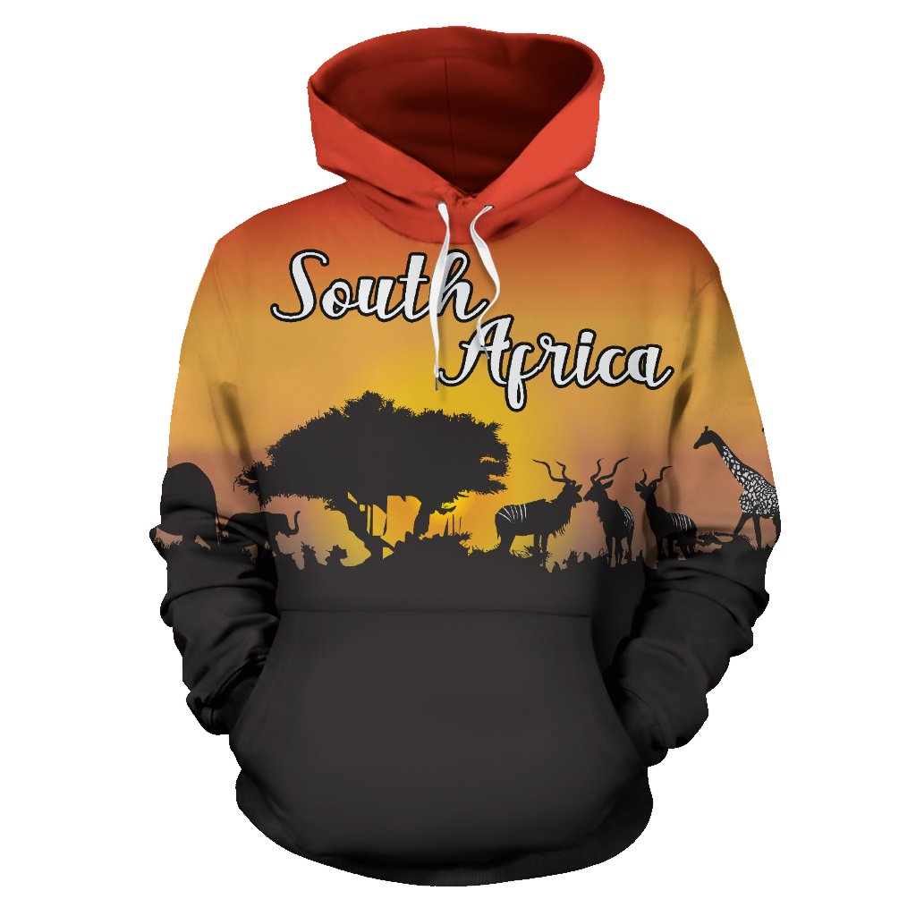 South Africa Hoodie - Sunset In South Africa | HOT Sale