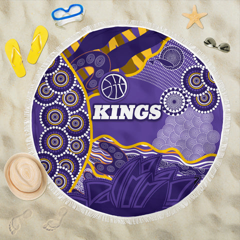 Kings Beach Blanket Sydney Aboriginal Art | Rugbylife.co