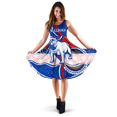 Image of Western Women's Dress Bulldogs Unique Indigenous