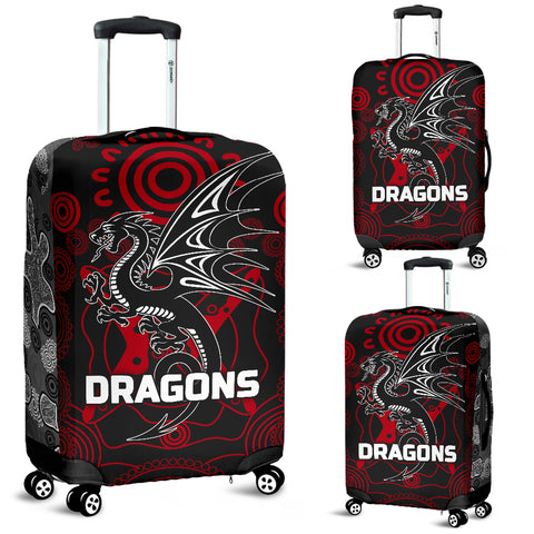 Image of Dragons Luggage Covers St. George Aboriginal TH6