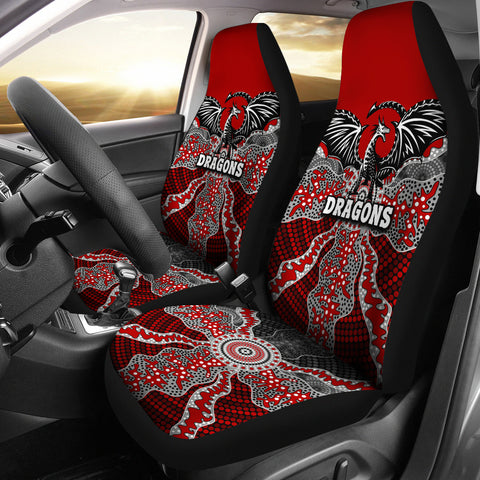 Dragons Car Seat Covers St. George Aboriginal