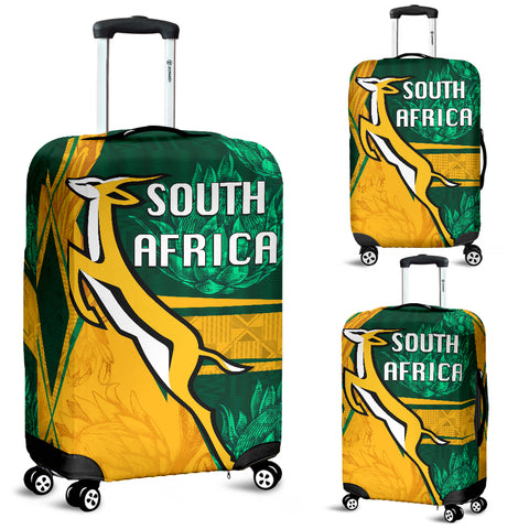South Africa Luggage Covers Springboks Rugby Be Fancy