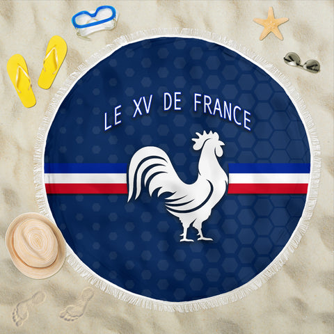 France Rugby Beach Blanket Le XV De France