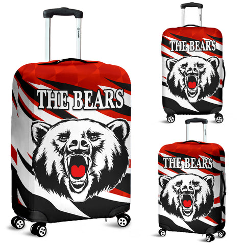 North Sydney Luggage Covers The Bears Unique Style