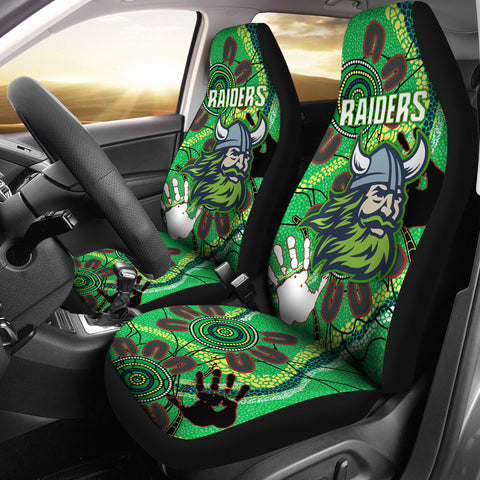 Canberra Car Seat Covers Raiders Indigenous 2 TH5