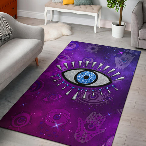 Evil Eye Area Rug Universe Style
