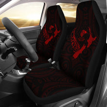 Load image into Gallery viewer, rugbylife Heart Car Seat Covers - Map Kiwi mix Silver Fern Red K4 - 1st rugbylife