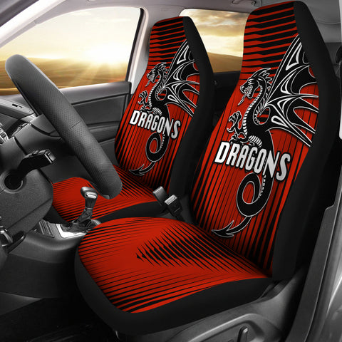 St. George Dragons Car Seat Covers Unique K8