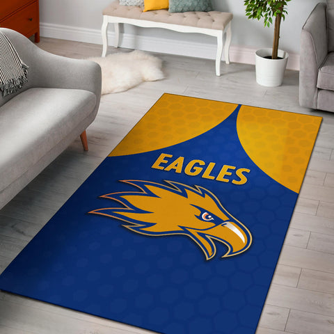 Eagles Area Rug West Coast - Royal Blue