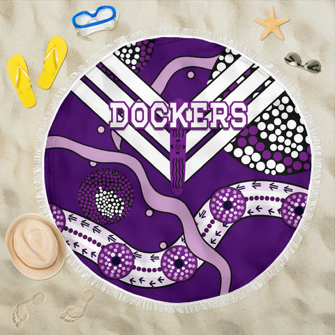 Dockers Beach Blanket Indigenous Fremantle - Freo | Rugbylife.co