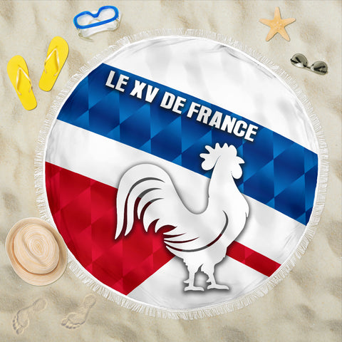 France Rugby Beach Blanket Le XV De France Sporty Style