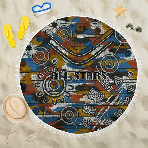 Indigenous All Stars Beach Blanket