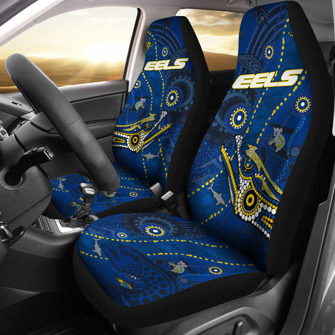 Image of Eels Indigenous Car Seat Covers Parramatta