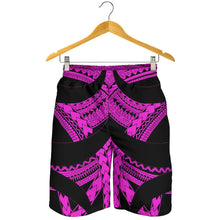 Load image into Gallery viewer, Samoan Tattoo All Over Print Men's Shorts Purple TH4 - 1st New Zealand