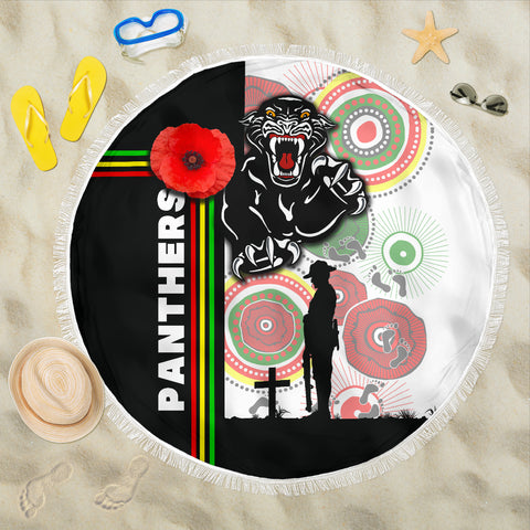 Penrith Panthers Beach Blanket Anzac Day Power Style | Rugbylife.co