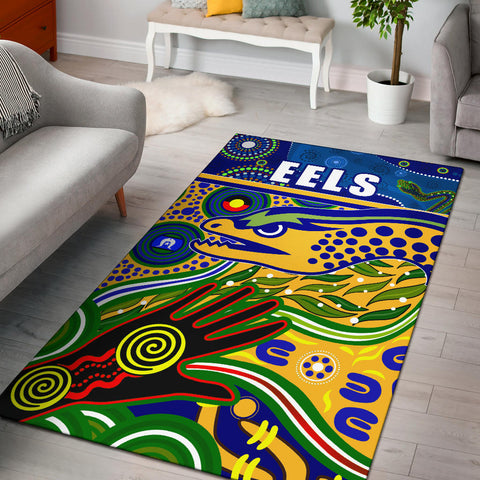 Eels Naidoc Special Area Rug | Rugbylife.co