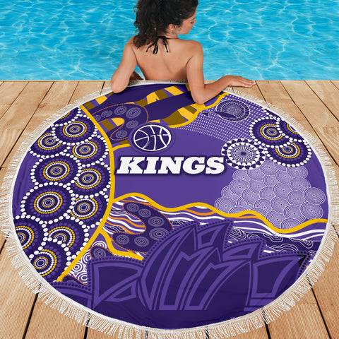 Kings Beach Blanket Sydney Aboriginal Art TH12