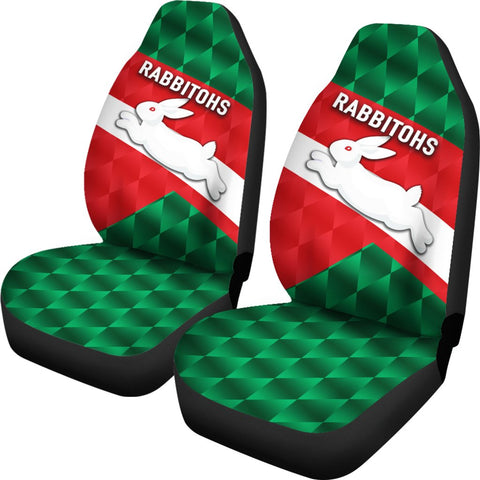 Rabbitohs Car Seat Covers Sporty Style