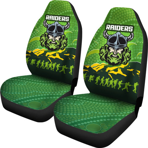 Canberra Raiders Car Seat Covers Anzac Country Style K36