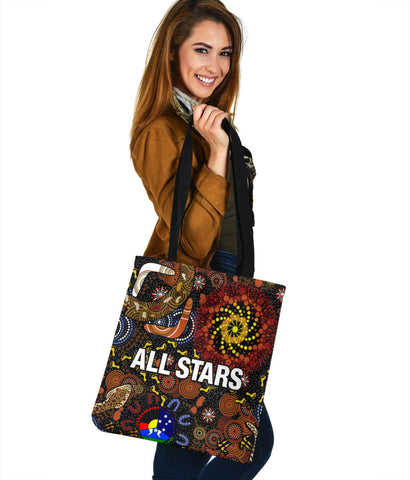 Australia Indigenous All Stars Tote Bag TH6