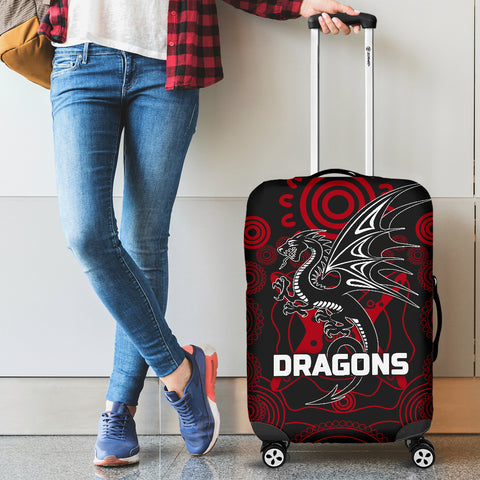 Dragons Luggage Covers St. George Aboriginal TH6