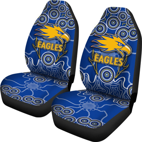 Eagles Indigenous Car Seat Covers West Coast
