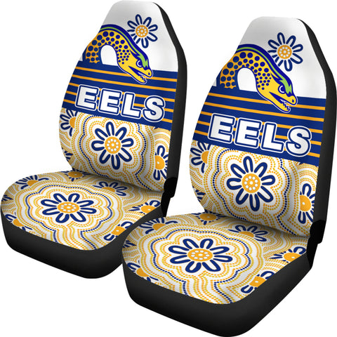 Eels Rugby Car Seat Covers Indigenous Parramatta Newest White | Rugbylife.co