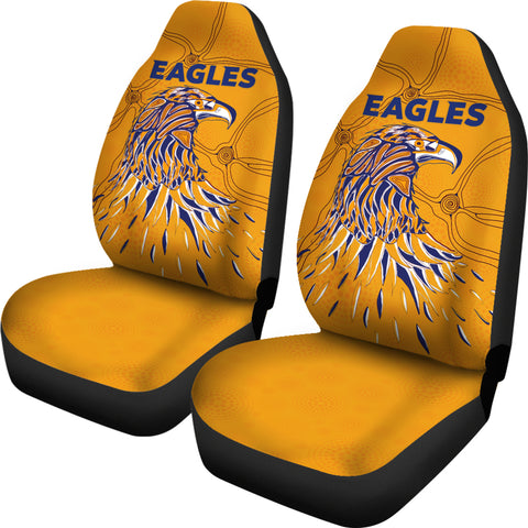 West Coast Car Seat Cover Eagles Indigenous TH6