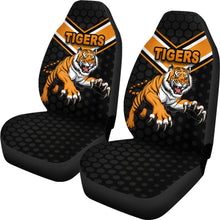 Load image into Gallery viewer, Wests Car Seat Covers Tigers
