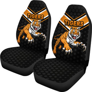 Wests Car Seat Covers Tigers