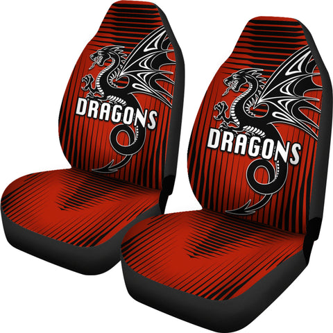 St. George Dragons Car Seat Covers Unique