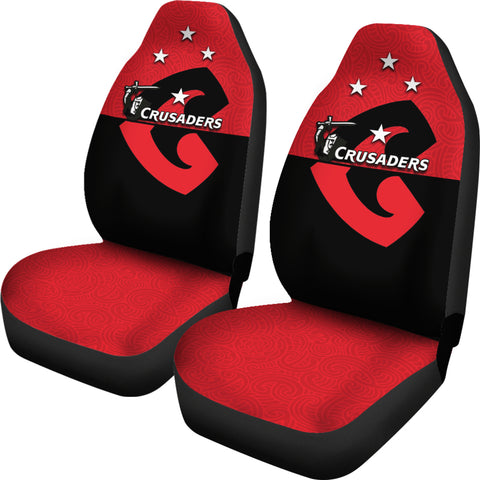 Crusaders New Zealand Car Seat Covers TH4
