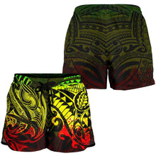 Load image into Gallery viewer, New Zealand All Over Print Women's Shorts, Maori Polynesian Tattoo Reggage TH4 - 1st New Zealand