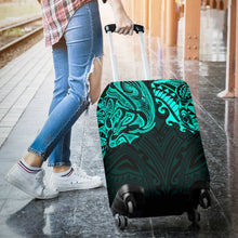Load image into Gallery viewer, New Zealand Luggage Covers, Maori Polynesian Tattoo Turquoise TH4 - 1st New Zealand