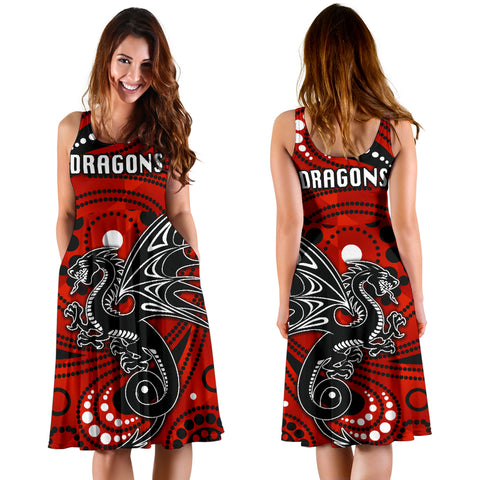 St. George Dragons Women's Dress Simple Indigenous K8