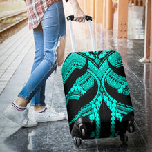 Load image into Gallery viewer, Samoan Tattoo Luggage Covers Turquoise TH4 - 1st New Zealand