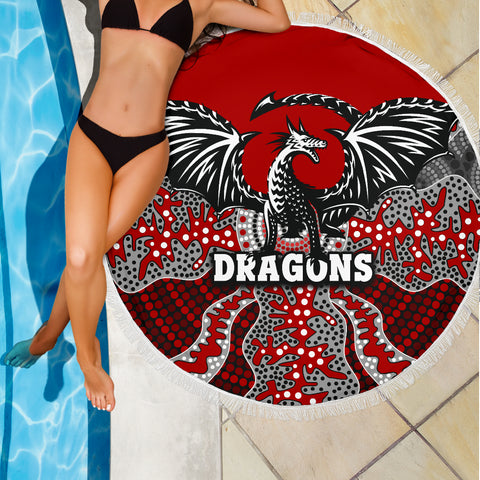 Dragons Beach Blanket St. George Aboriginal TH12