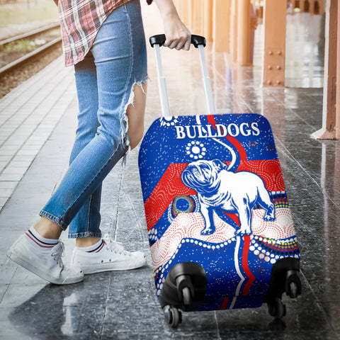 Western Luggage Covers Bulldogs Unique Indigenous K8