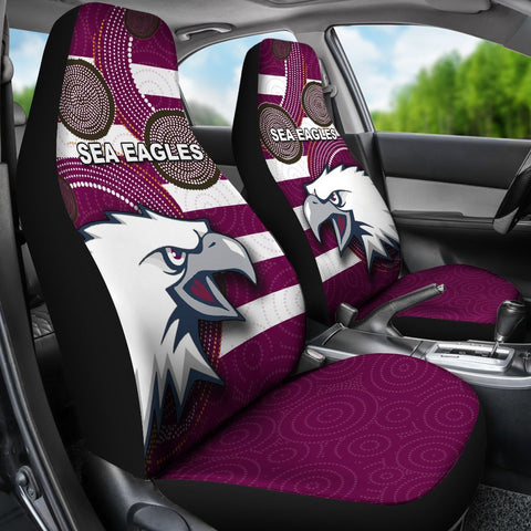 Image of Sea Eagles Car Seat Covers Aboriginal TH4