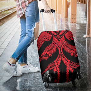 Samoan Tattoo Luggage Covers Red TH4 - 1st New Zealand