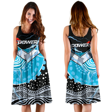 Image of Power Anzac Day Women's Dress Port Adelaide Lighting K13