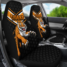 Load image into Gallery viewer, Wests Car Seat Covers Tigers K8
