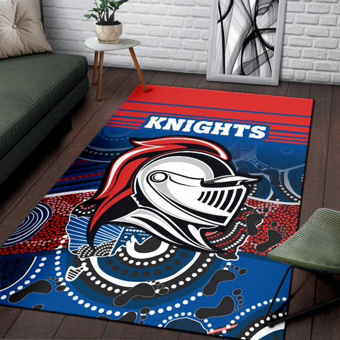 Knights Area Rug Newcastle Aboriginal Horizontal Style TH12