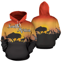 Load image into Gallery viewer, South Africa Hoodie - Sunset In South Africa | Super Sale