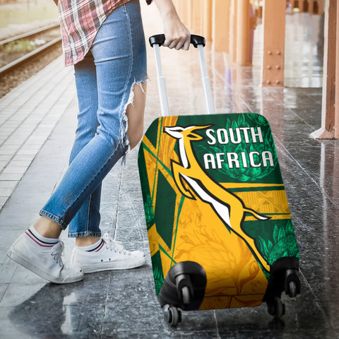 Image of South Africa Luggage Covers Springboks Rugby Be Fancy K8