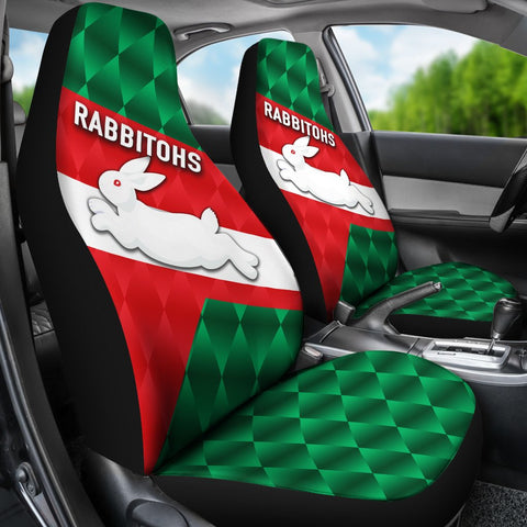Rabbitohs Car Seat Covers Sporty Style K8