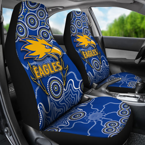 Eagles Indigenous Car Seat Covers West Coast K8