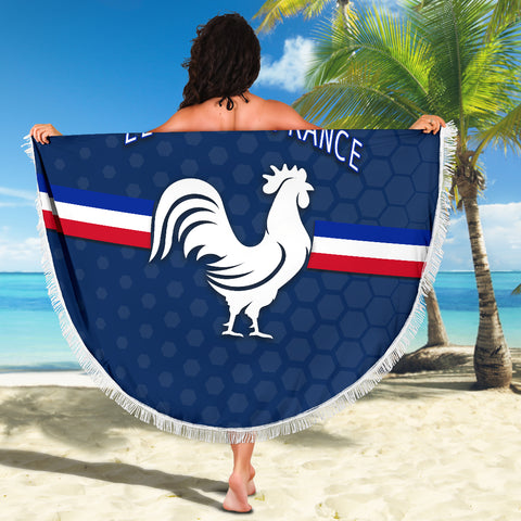France Rugby Beach Blanket Le XV De France K8